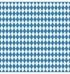 Seamless texture bavarian flag vector