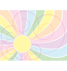 spectrum wave background vector image