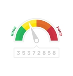 Narrower credit counter vector