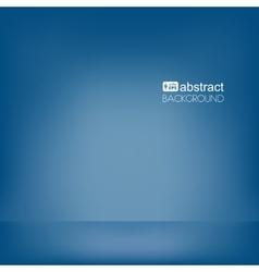 Background dark blue empty room mock up vector