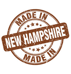 Made in new hampshire vector