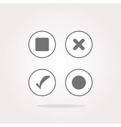 On off Icon On off Icon UI On off Icon vector image