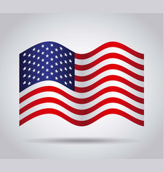 Usa country flag vector
