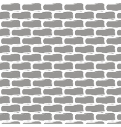 with brick wall background vector image