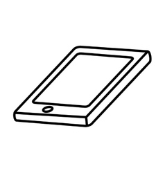 Smartphone icon technology and gadget design vector