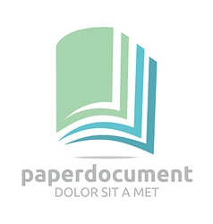 Book document lesson studies dictionary icon vector