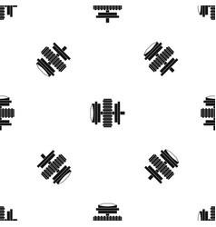 repair thing pattern seamless black vector image vector image
