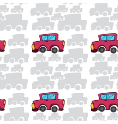 array of cars vector image vector image