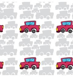 Array of cars vector