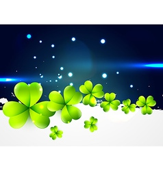 beautiful st patricks day design vector image vector image