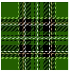 Green stewart tartan design vector