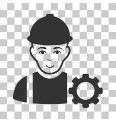 Repairman icon vector
