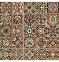 Tile weave pattern vector