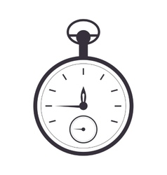 Pocket watch icon vector