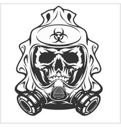 Biohazard - skull mask virus infection vector
