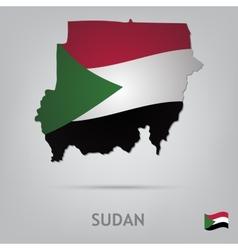 Country sudan vector