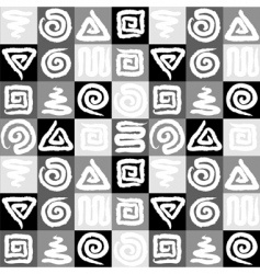 pattern seamless vector image vector image