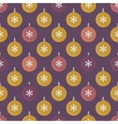 Seamless pattern with balls for packaging textile vector image vector image