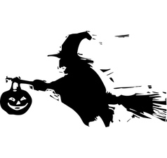 Shadow Witch vector image vector image