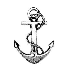 Anchor hand drawn vector