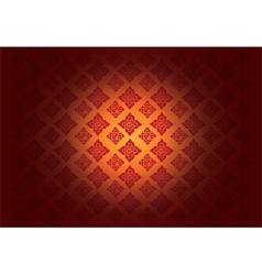 Thai Art Background Thai art pattern vector image vector image