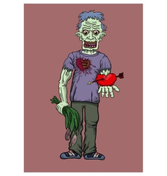 love of a corpse vector image