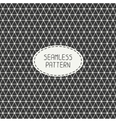 Geometric monochrome abstract seamless polygon vector
