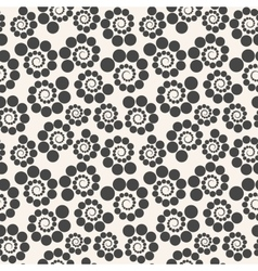 Seamless geometric pattern dots around  can be vector