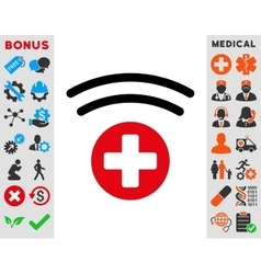 Medical source icon vector
