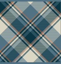 Gray blue check plaid seamless pattern vector