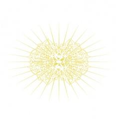 ornamental elements vector image
