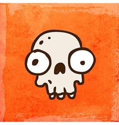 Skull Cartoon vector image