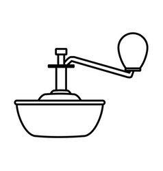 toilet float isolated vector image vector image