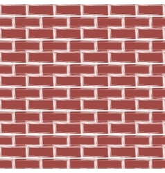 With brick wall background vector