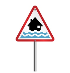 Flood Warning vector image