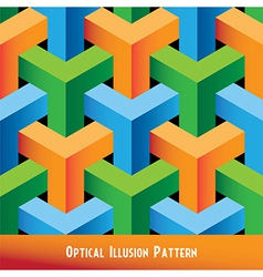 Abstract Optical Seamless Pattern vector image vector image