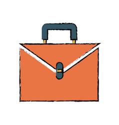 Briefcase business suitcase portfolio accessory vector