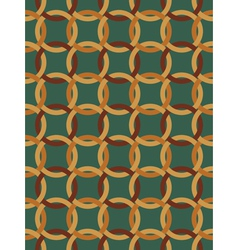 pattern made of Celtic knots vector image vector image