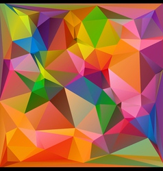 colorful polygonal mosaic background vector image
