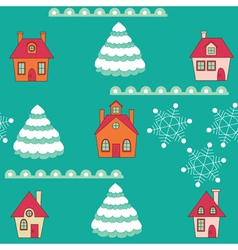 winter wallpaper vector image vector image