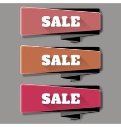 Sale banner template design web banners set vector