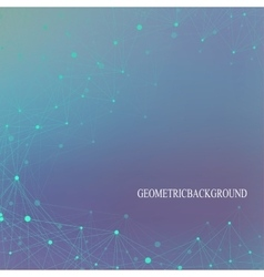 Graphic background molecule and communication vector