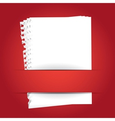 BackgroundWithBlankPapers vector image vector image
