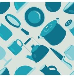 utensil pattern vector image vector image