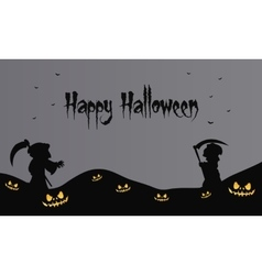 warlock halloween backgrounds scary vector image