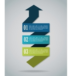 Steps options and infographic design vector