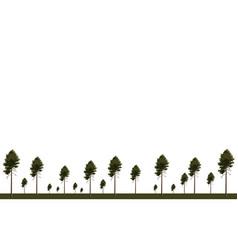 Wallpaper tree birch in springtime vector