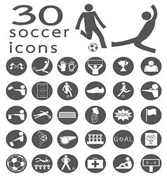 Soccer icon2 vector