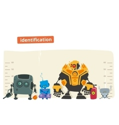 Robot identification vector