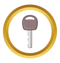 Car key icon vector